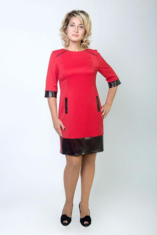 Платье Шарм больших размеров  46-52