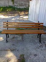 Боковина, ножка к лавке садово-парковой  Ретро