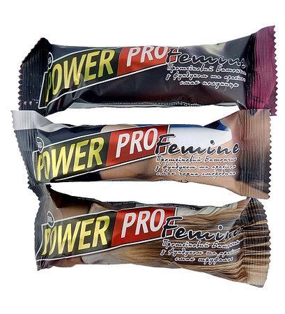 Протеиновый батончик Power Pro Femine 36% 20х60g