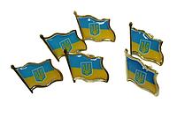 Значок (UKRAINE) 2х2см