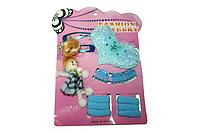 Детские наборы для девочек (заколки, резинки, браслеты, колье) 29