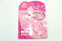 Детские наборы для девочек (заколки, резинки, браслеты, колье) 26
