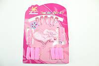 Детские наборы для девочек (заколки, резинки, браслеты, колье) 9