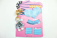 Детские наборы для девочек (заколки, резинки, браслеты, колье) 2