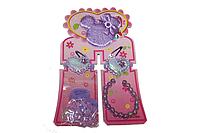 Детские наборы для девочек (заколки, резинки, браслеты, колье) 31