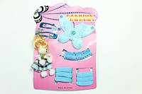 Детские наборы для девочек (заколки, резинки, браслеты, колье) 12