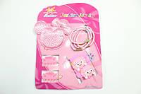 Детские наборы для девочек (заколки, резинки, браслеты, колье) 5