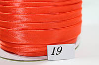 Косая Бейка атласная 2.5см (100 ярд.)  19 (8181)