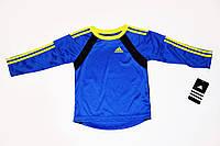 Детская Футболка спортивная на мальчика Adidas 1,5-2 года 86-92 см