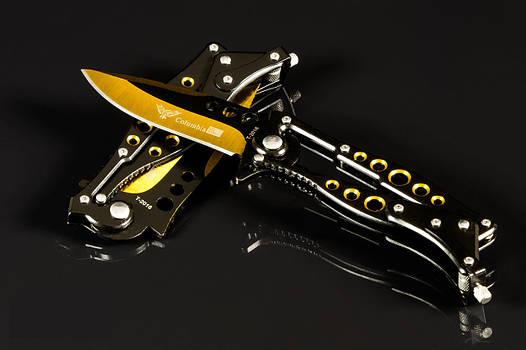 Стильный складной армейский нож Columbia охотничий