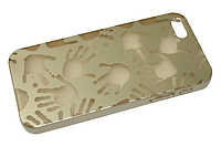 Чехол на заднюю панель Пластиковый (Hands Gold) Apple Iphone 5/5s/SE