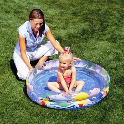 Детский надувной бассейн 102х20 см, фото 2