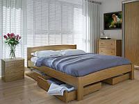 Кровать MeblikOff Скай с ящиками (140*190) дуб