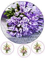 Вафельная картинка Цветы 22