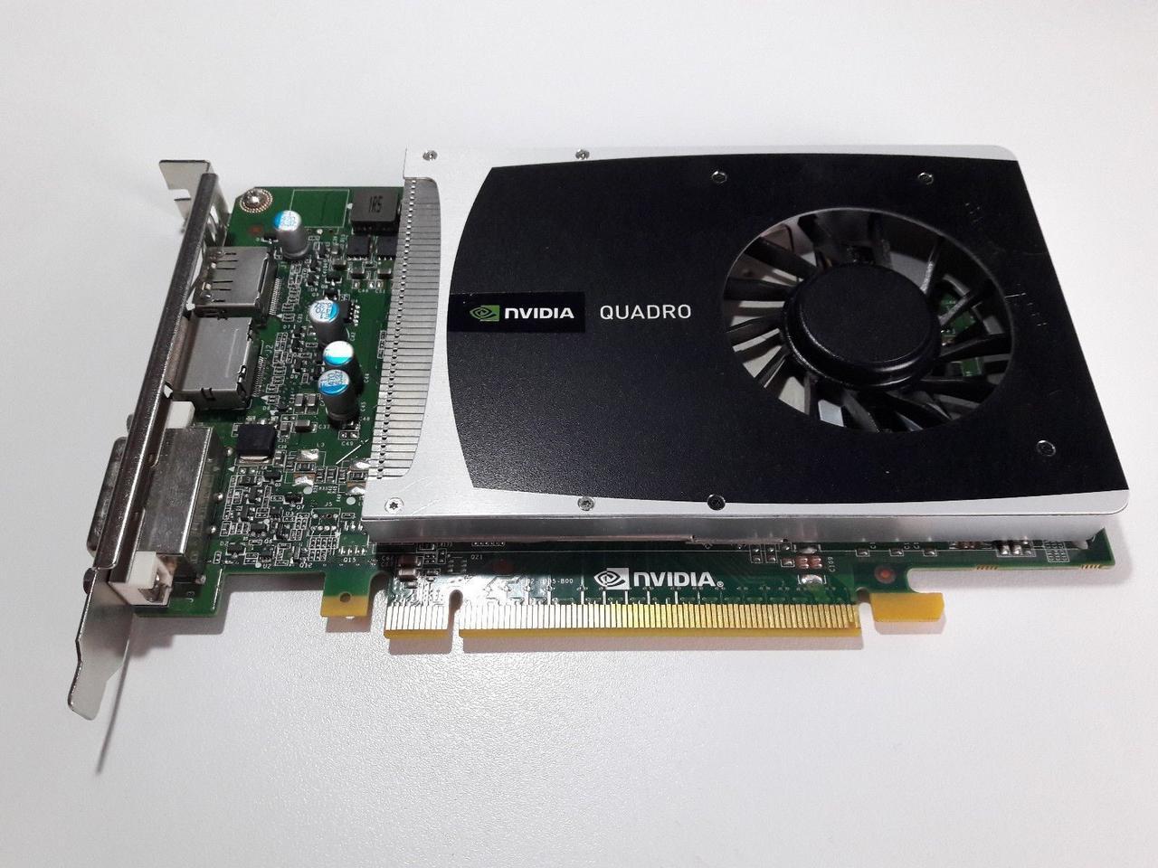 Видеокарта Nvidia Quadro 2000, 1024МБ GDDR5 (128бит)