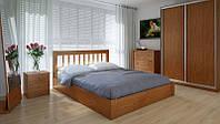 Кровать MeblikOff Вилидж с механизмом (120*190) дуб