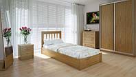 Кровать MeblikOff Вилидж с механизмом (90*200) дуб