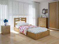 Кровать MeblikOff Кантри с механизмом (90*200) ясень