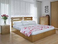 Кровать MeblikOff Кантри с механизмом (120*200) ясень
