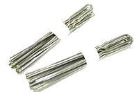 Шпильки для волос серебристые (10шт) 8см