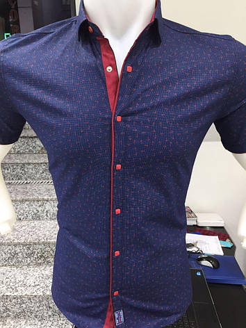 7a3d473b008 Рубашка короткий рукав X-Port узор  продажа