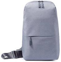 Рюкзак Xiaomi multi-functional urban leisure chest Pack светло-серый
