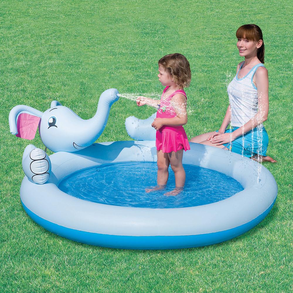 """Детский бассейн с фонтаном """"Слоник"""""""