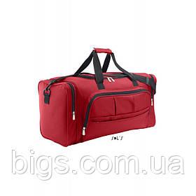 Сумка спортивная SOL'S WEEK-END ( дорожная сумка ) Красный