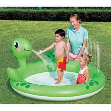 """Детский бассейн с фонтаном """"Черепашка"""""""