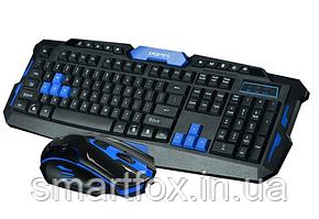 Комплект беспроводная клавиатура + мышка Gamer 8100