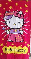 Полотенце детское пляжное Hello Kitty