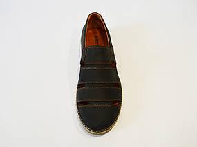 Туфли мужские летние синие Konors, фото 3