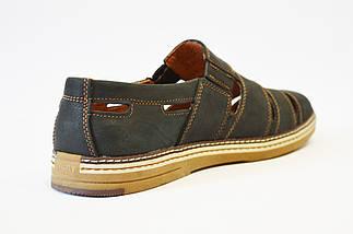 Туфли мужские летние синие Konors, фото 2