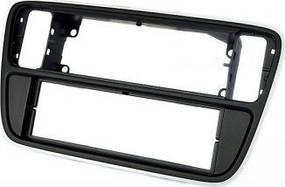 Переходная рамка CARAV 11-405 для SKODA Citigo 2012+ / VOLKSWAGEN up! 2012+ / SEAT Mii 2012+ (Gloss Black)