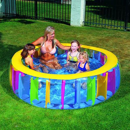 Детский надувной бассейн 183х61 см, фото 2