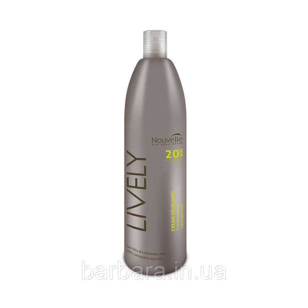 Окислительная эмульсия Nouvelle Lively Cream Peroxide 1000 мл