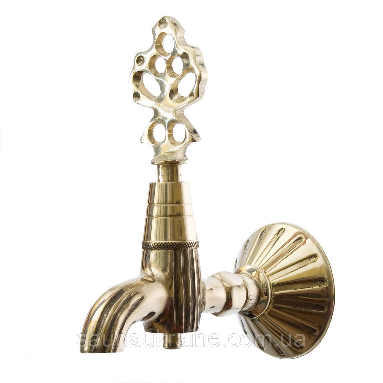 Кран Sonder 001  Золото для хамама  - турецкой бани