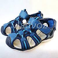 Детские босоножки сандалии для мальчика на мальчиков мальчику Tom.M синие Спорт 26р 16см