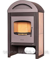 Отопительная печь-камин длительного горения FLAMINGO MELAND (бежевый)