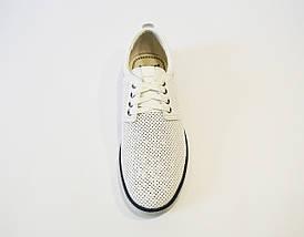 Белые перфорированные туфли Konors, фото 3