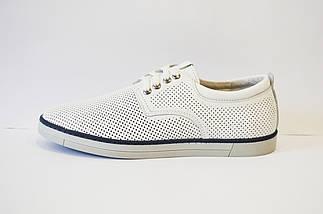 Белые перфорированные туфли Konors, фото 2