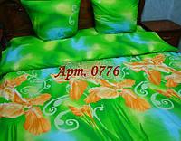 Комплект постельного БЯЗЬ оптом и в розницу, Зелень Неон 0776
