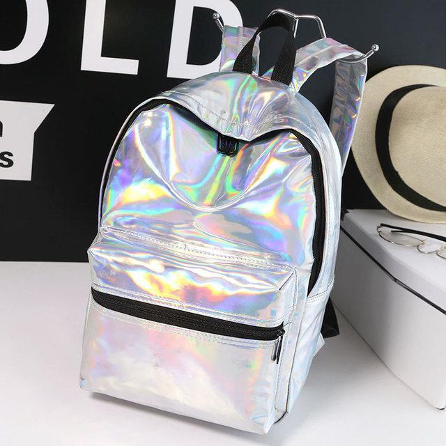 f54ffbd3d927 Молодежный рюкзак с голографическим эффектом - ZLATA trend - интернет  магазин в Ивано-Франковске