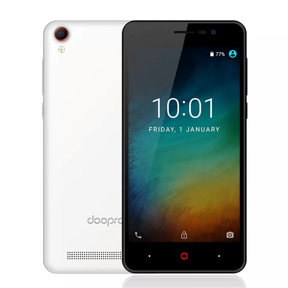 "Doopro P3 Quad Core 5"" мощная батарея 4200 мАч White"
