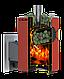 Дровяная печь для бани и сауны Теплодар Кубань Панорама 20 Л с паровой пушкой, фото 2