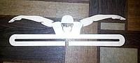 Медальница, вешалка для медалей, медальниця, вешалка для медалей плавання 5