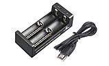 Зарядное устройство XTAR MC2 (18650, Li-Ion, USB) (Оригинал), фото 3