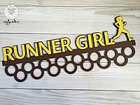 Медальница, вешалка для медалей, медальниця, вешалка для медалей runner girl