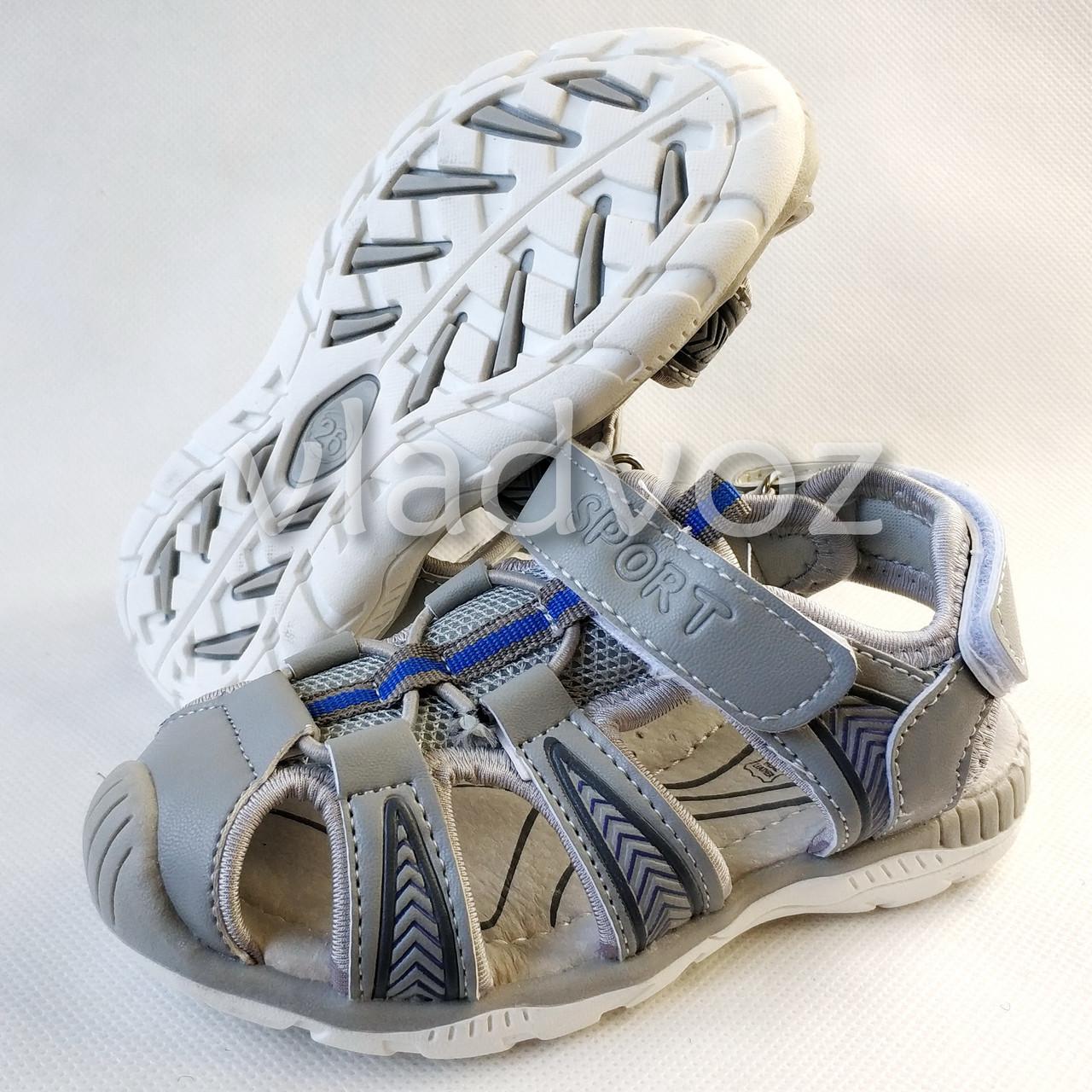 Босоножки сандалии для мальчика на мальчиков мальчику Tom.M серые Спорт