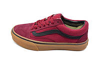 Мужские Кеды Vans Old Skool 115 Burgundy